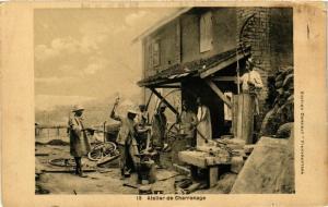 CPA Atelier de Charronage MADAGASCAR (709618)