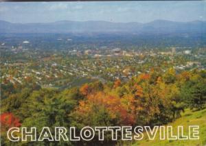 Virginia Charlottesville Skyline