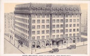 Hotel Bellevue , SAN FRANCISCO , California , 30-40s