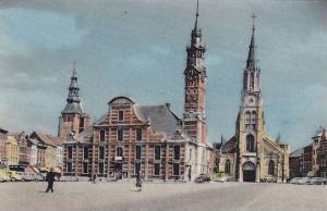 Grand'Place, St-Trond, Flemish Brabant, Belgium, 1900-1910s