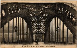 CPA LYON Le Pont de la Boucle vue interieure (462191)