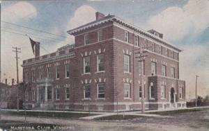Exterior, Manitoba Club, Winnipeg, Manitoba, Canada,PU-1907
