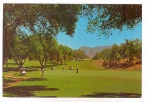 Golf Course, Fallbrook, California, 60-70s
