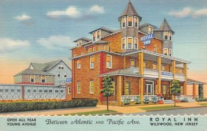 LPN93 Wildwood New Jersey Postcard Royal Inn
