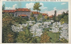 ASHEVILLE , North Carolina , PU-1933 ; Grove Park Inn in Springtime