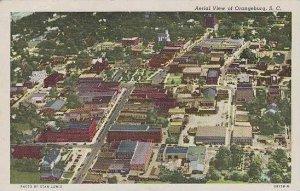 South Carolina Orangeburg Aerial View Of Orangeburg