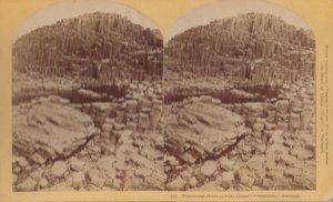 SV , Giant's Causeway , NORTHERN IRELAND , 1877 ; The Great Honeycomb