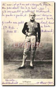 Old Postcard L & # 39Aiglon Andre Metternich Galmettes