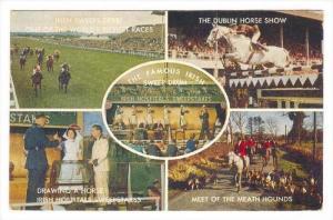 Famous Irish Sweepstakes, PU-1968 5-view postcard #1