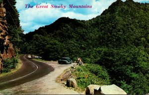 Tennessee Smoky Mountains View Of The Chimneys 1966