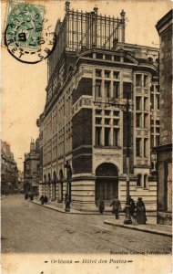CPA ORLÉANS - Hotel des Postes (985364)