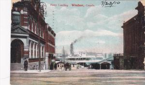 Ferry Landing, Windsor, Ontario, Canada, PU-1910