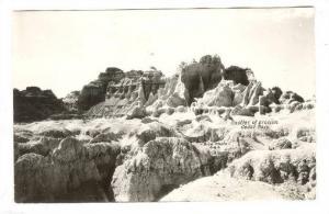 RP; Castles of Erosion, Cedar Pass, Black Hills, South Dakota, 30-40s