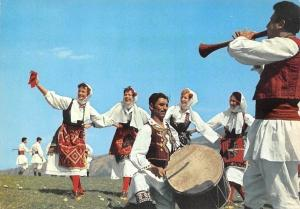 Macedonia Kosovo Oro - Crnogorka, skopsko, Ethno Dance Costumes Band, folklore