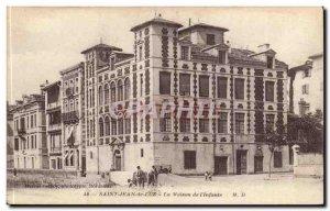 Saint Jean de Luz Old Postcard The house of & # 39infante