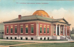 EUREKA, California , 1900-10s ; Carnegie Library