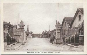 France Military Camp de Mailly Entree du Parc D'Artillerie 01.30
