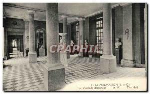 Rueil Malmaison - Napoleon - The Vestible d & # 39Honneur The Hall - Old Post...
