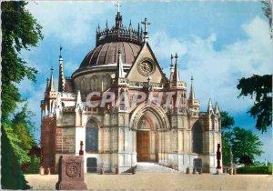 Modern Postcard Royal Chapel of Dreux Built around