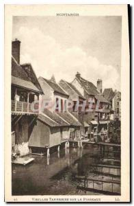 Old Postcard Montargis Old Tanneries on Pinseaux