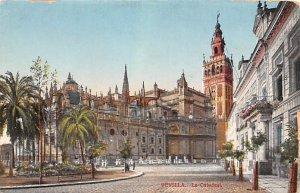 La Catedral Sevilla Spain Writing on back