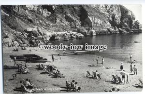 tp9117 - Devon - Redgate Beach, at Anstey's Cove, in Torquay - postcard