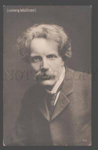 107051 Ludwig WULLNER German COMIC SINGER baritone PHOTO Old