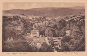 Germany Bad Langenschwalbach Blick von der Platte 1918