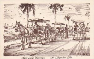 Sight Seeing Carriages Saint Augustine Florida