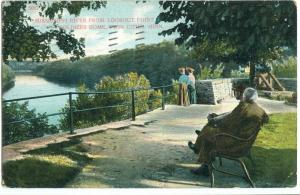 Mississippi River from Lookout Point, Soldiers Home 1909