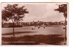 Real Photo, Duchess of Hamilton Park, Motherwell, Scotland,