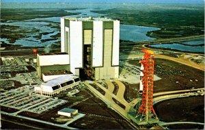 JOHN F KENNEDY SPACE CENTER, FL NASA's AERIAL BUILDING 1967