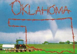 Oklahoma Tulsa Tornado Dont Fence Me In