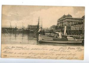 152073 Croatia Rijeka FIUME Riva Szapary Vintage postcard