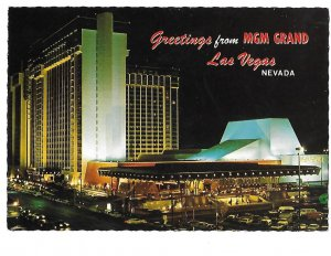 Original MGM Grand Hotel Casino now Balleys Las Vegas Nevada 4 by 6
