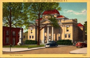 South Carolina Statesville Iredell County Court House