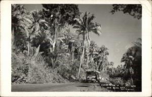 Vista De San Blas Nay Lab. Herrera Real Photo Postcard #2 BUS