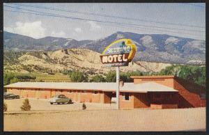 Shawano Motel Salida Colorado Unused c1950s
