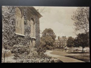 Cambridge: Emmanuel College & Garden c1914 by F.Frith & Co. No.66860