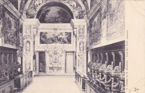 Interior, Chiesa di S. Martino, Coro dei Frati conversi, Bologna, Emilia-Roma...