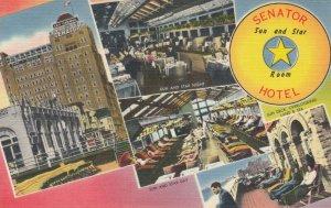 ATLANTIC CITY, New Jersey, 1930-40s ; Senator Hotel