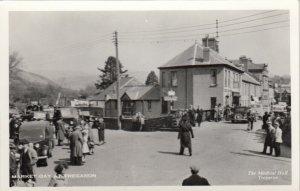 RP:Tregaron , Ceredigion , Wales , 30-40s ; Market Day