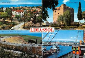 Cyprus Limassol, General view, Kolossi Castle, ancient theater, Harbour