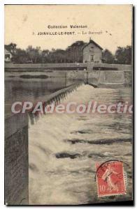 Old Postcard Joinville Bridge Dam