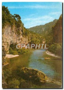 Modern Postcard The Tarn Gorges The straits