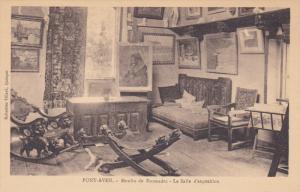 PONT AVEN, Finistere, France, 1900-1910´s; Moulin De Rosmadec, La Salle D'Ex...