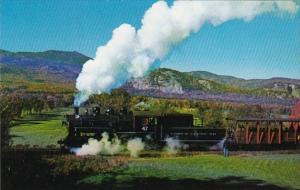 Conway Scenic Railroad 0-6-0 Steam Locomotive No 47