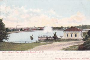 Mount Hope Reservoir, Rochester, New York, PU-1906