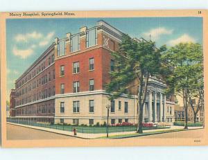 Linen HOSPITAL SCENE Springfield Massachusetts MA hs0363