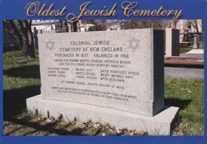 Rhode Island Newport Oldest Jewish Cemetery Of New England